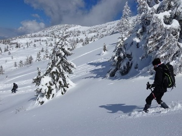 Raquette montagne coup e - Montagne coupee ski de fond ...