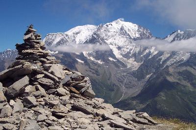 5 SOMMETS ENTRE ARAVIS ET BEAUFORTAIN Alpes Aravis Mont Blanc - France