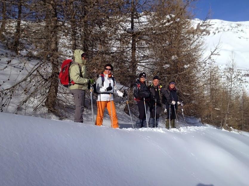 florilège dans les écrins en ski de randonnée nordique