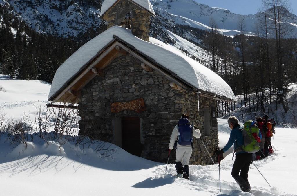 Cervières, vallée sauvage du Briançonnais à raquettes -600aa4eb404e9: /