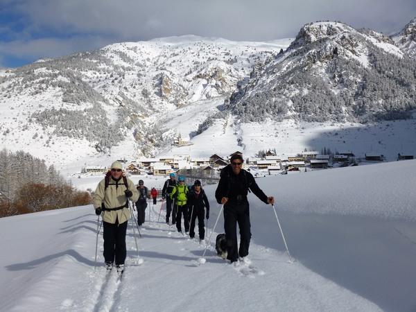 Vallée nordique du Briançonnais à ski -5c7189935b777: /
