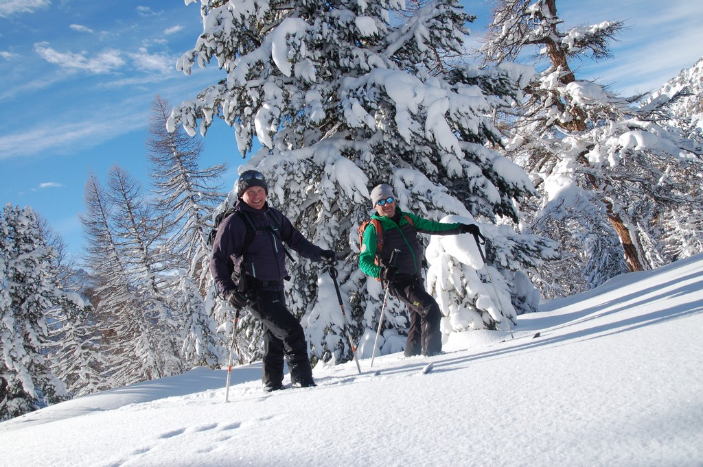 Découverte Du Pays d'Izoard à raquettes et ski nordique : /