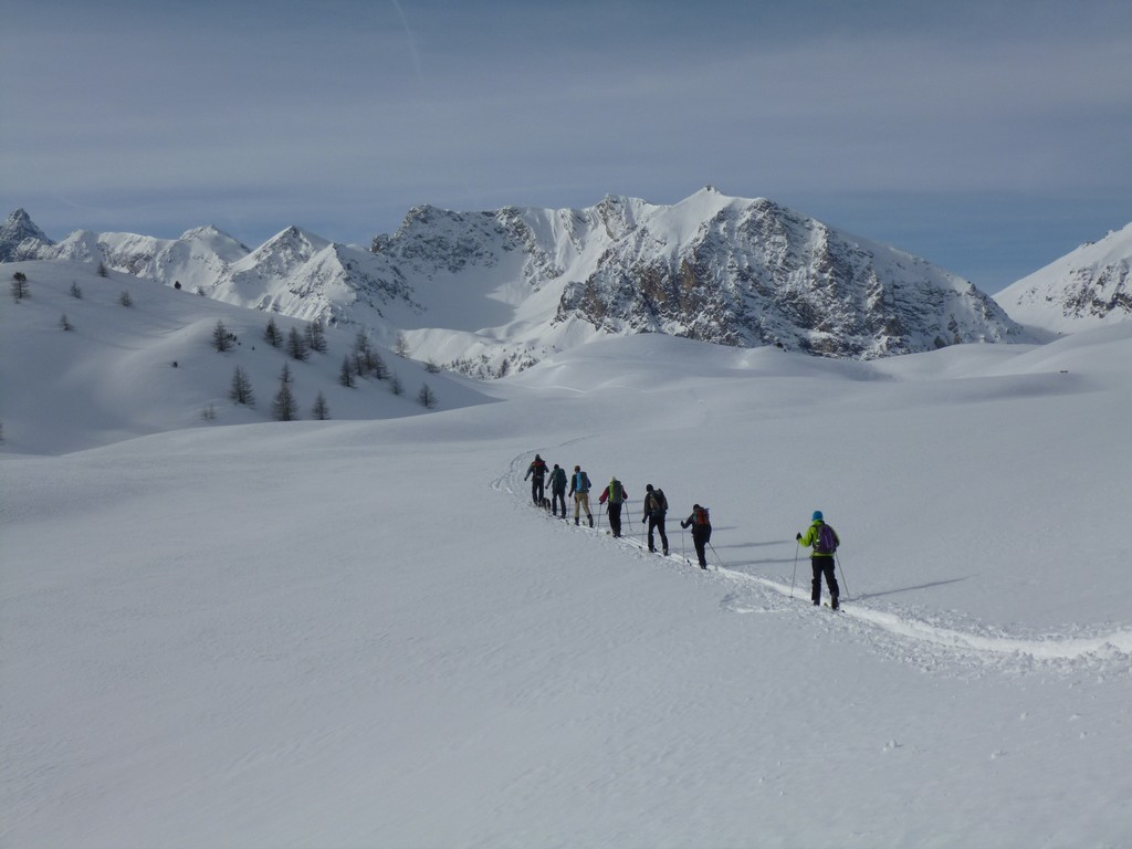 Découverte Du Pays d'Izoard à raquettes et ski nordique -6037aa827b99e: /