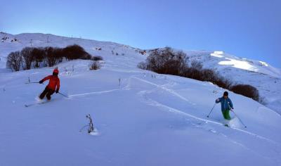 fou de ski de randonnée dans les écrins